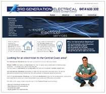 electrician website examples